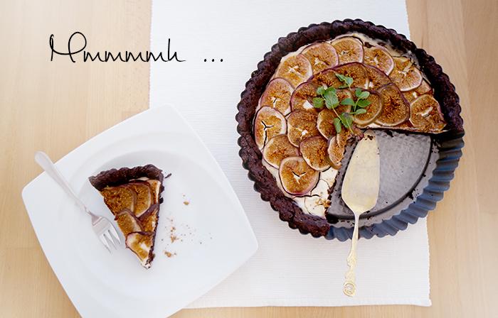 FOOD | Schokoladen-Feigen-Tarte
