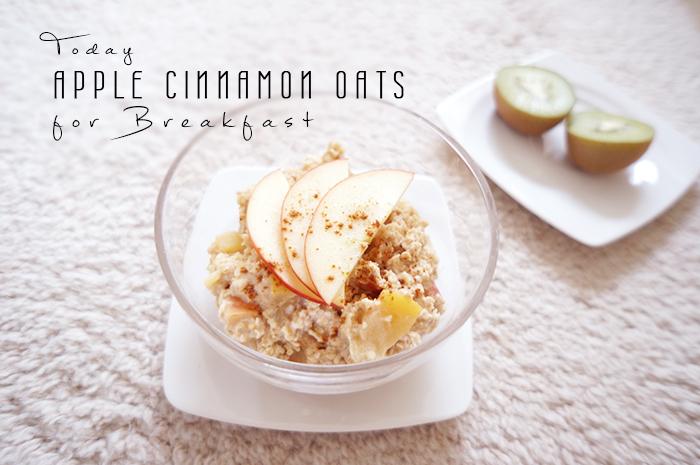 FOOD | Mein bestes Apfel-Zimt-Porridge